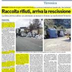 Rifiuti, L'inoperosità di Villa San Giovanni e la rescissione di Bagnara